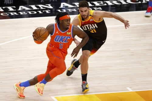 Luguentz Dort scores career-high 42 points as Thunder falls 106-96 to Jazz