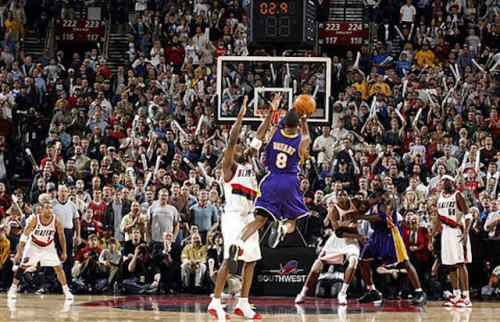 This Day In Lakers History: Kobe Bryant Sinks Buzzer-Beater Against Trail Blazers In Double Overtime