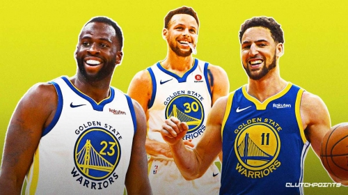 Warriors' Draymond Green recalls meeting Steph Curry, Klay Thompson for the first time