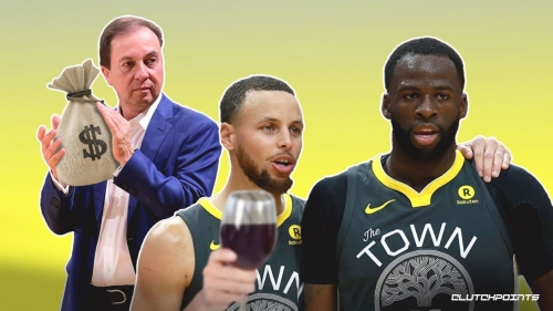 Warriors' Stephen Curry, Draymond Green hilariously trick Joe Lacob into paying $5000 wine celebration
