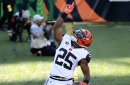 New Buccaneers running back Giovani Bernard grateful for time in Cincinnati, ready to get working with Tom Brady