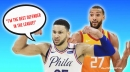 Ben Simmons' crusade against Rudy Gobert is great news for Sixers fans