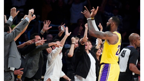 Lakers 'can't wait' for fans in Staples Center on Thursday