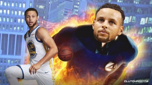 Stephen Curry reacts to 95 points and 21 threes in last 2 games