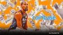 Nets star Kevin Durant just made bank on his Coinbase investment