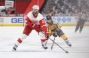 Steve Yzerman pleased with improvement of young Detroit Red Wings. Joe Veleno might be next