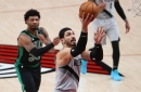 Enes Kanter Dominates On The Glass