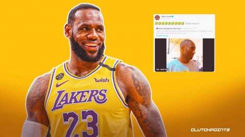 LeBron James' hilarious reaction to old, defiant, Lakers Kobe Bryant quote