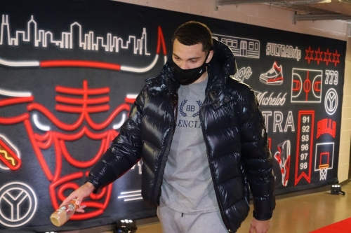 "Zach LaVine ""expected to miss several games"" after entering COVID protocol"