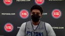 Detroit Pistons rookie Killian Hayes: Passing is something I keep working on