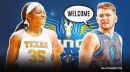 Mavs' Luka Doncic welcomes top WNBA draft pick Charli Collier to Dallas
