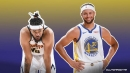 Warriors star Stephen Curry's no-look three's give JaVale McGee flashbacks