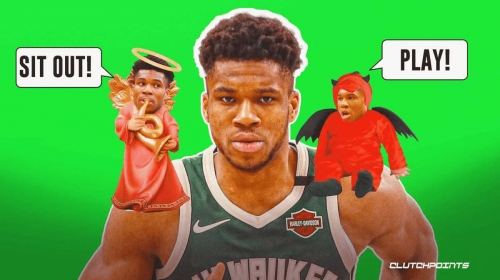 Bucks' Giannis Antetokounmpo gets real on dilemma of sitting out games
