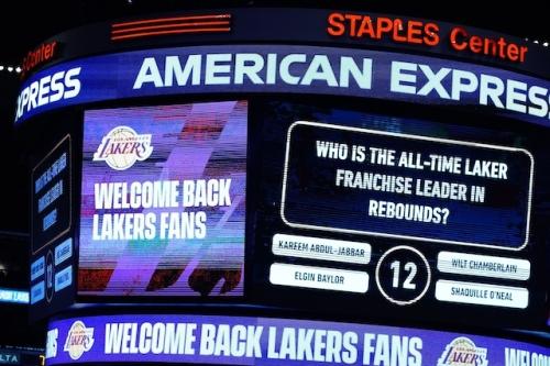 Kyle Kuzma & Frank Vogel Enjoyed Having Lakers Fans Back In Staples Center