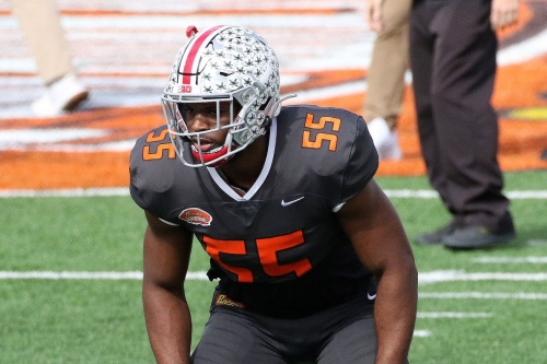 Should Rams consider LB Baron Browning with top pick?