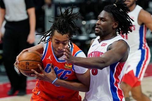 Isaiah Stewart's rebounds power Detroit Pistons to 110-104 win over Oklahoma City Thunder
