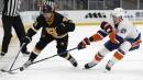 Hall scores again, Swayman looks solid as Bruins blank Islanders