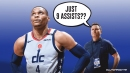 Russell Westbrook missing triple-double draws sarcastic response from Wizards coach