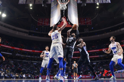 """Sixers beat Clippers...OK the preferred verb would be """"eke,"""" they EKED it out, OK, happy?"""