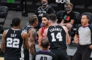 Spurs miss three late shots to win and fall to Trail Blazers