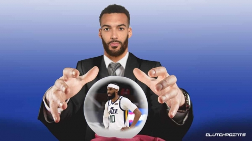 The hilarious way Jazz star Rudy Gobert determines Mike Conley's playing status