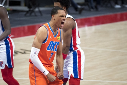 Thunder lose to Pistons 110-104
