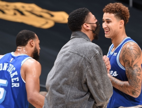 Kyle Kuzma: It's 'Gonna Be Great' For Lakers To Get Anthony Davis Back