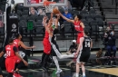 Stotts 'Proud' of Simons' Output in Blazers' Win Over Spurs