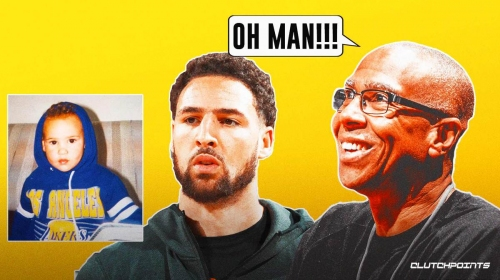 Klay Thompson's dad shows proof he tried to make Warriors star a Laker