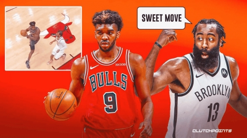 VIDEO: Bulls' Patrick Williams mimics James Harden with nasty Euro step