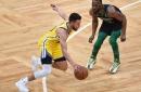 Celtics outlast Curry eruption, beat Warriors 119-114