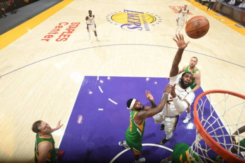 Lakers Highlights: Dennis Schroder, Andre Drummond & Kentavious Caldwell-Pope All Score 25+ Points In Win Over Jazz