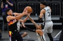 "San Antonio at Phoenix, Final Score: ""Resting"" Spurs shock Suns in blowout, 111-85"