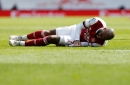 Arsenal boss Mikel Arteta gives Alexandre Lacazette injury update after limping off during Fulham draw