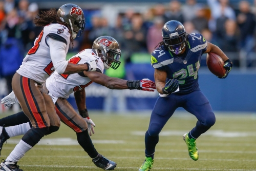 Marshawn Lynch discussed joining the Buccaneers with Tom Brady