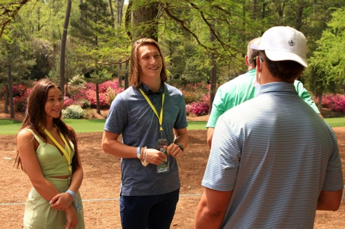 Trevor Lawrence thanks fans for wedding gifts, Adds to charity fund
