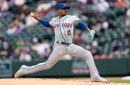Final Score: Mets 2, Rockies 1-The Stro show on the road
