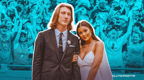 Trevor Lawrence reacts to Jaguars fans buying him wedding gifts