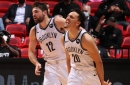 Landry Shamet's career-high spoiled as Nets lose at buzzer to Heat, 109-107; Durant hurt
