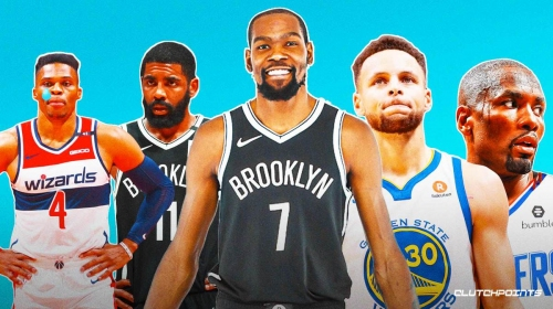 Nets' Kevin Durant lists Top 5 players he played with, snubs Russell Westbrook