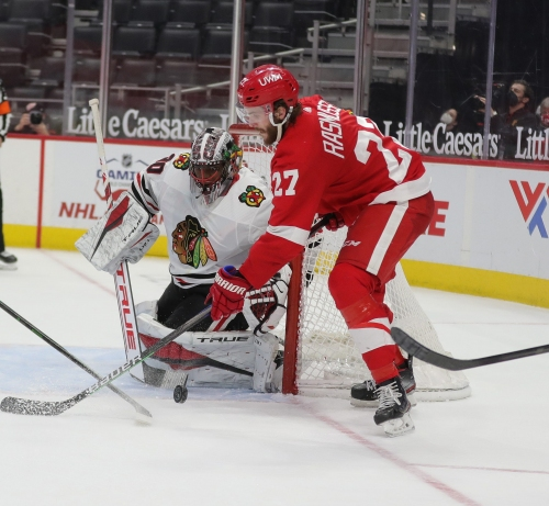 Detroit Red Wings stock watch: Why Michael Rasmussen is rising, Dennis Cholowski falling