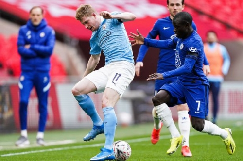 Man City issue injury update on Kevin De Bruyne injury ahead of crunch games