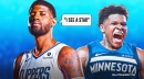 Paul George speaks out on potential of Timberwolves rookie Anthony Edwards