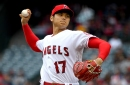 Angels' Shohei Ohtani will be on a pitch count and won't hit when he returns to the mound Tuesday