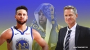 Warriors star Stephen Curry has his ankle brace protection to thank after scary tweak, per Steve Kerr