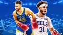 Stephen Curry, Seth Curry trade punches in Sixers-Warriors game