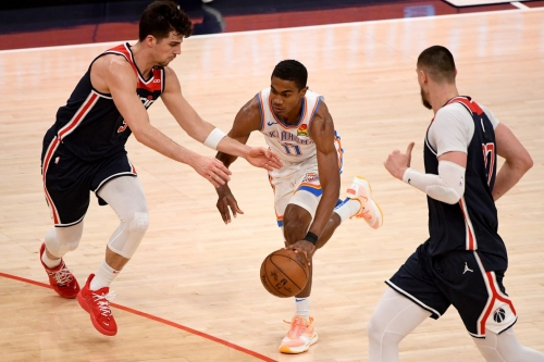 Thunder fall 119-107 to Wizards, despite career-high 26 points from Bazley
