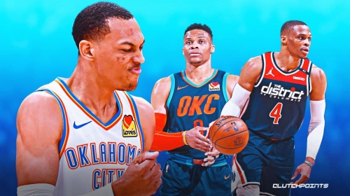 OKC's Darius Bazley reacts to putting clamps on Thunder icon Russell Westbrook