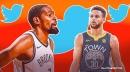 RUMOR: Kevin Durant caught liking tweet trashing Stephen Curry