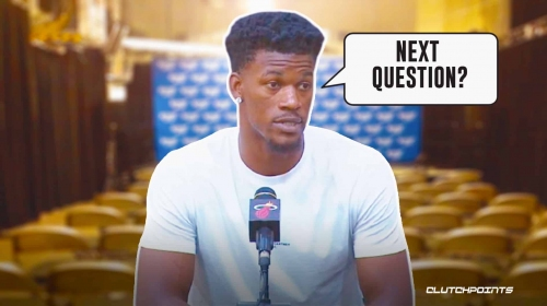 Jimmy Butler vexed over question on Miami's standing in East